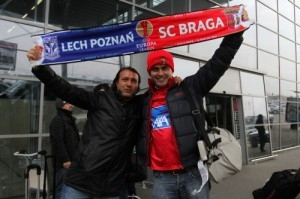 Kolejorz - Braga Foto: KKS LECH