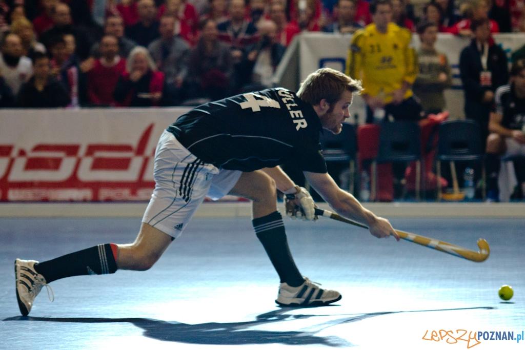 III Halowe Mistrzostwa Świata w Hokeju Na Trawie -Finał mężczyzn - Niemcy - Polska  Foto: lepszyPOZNAN.pl / Piotr Rychter