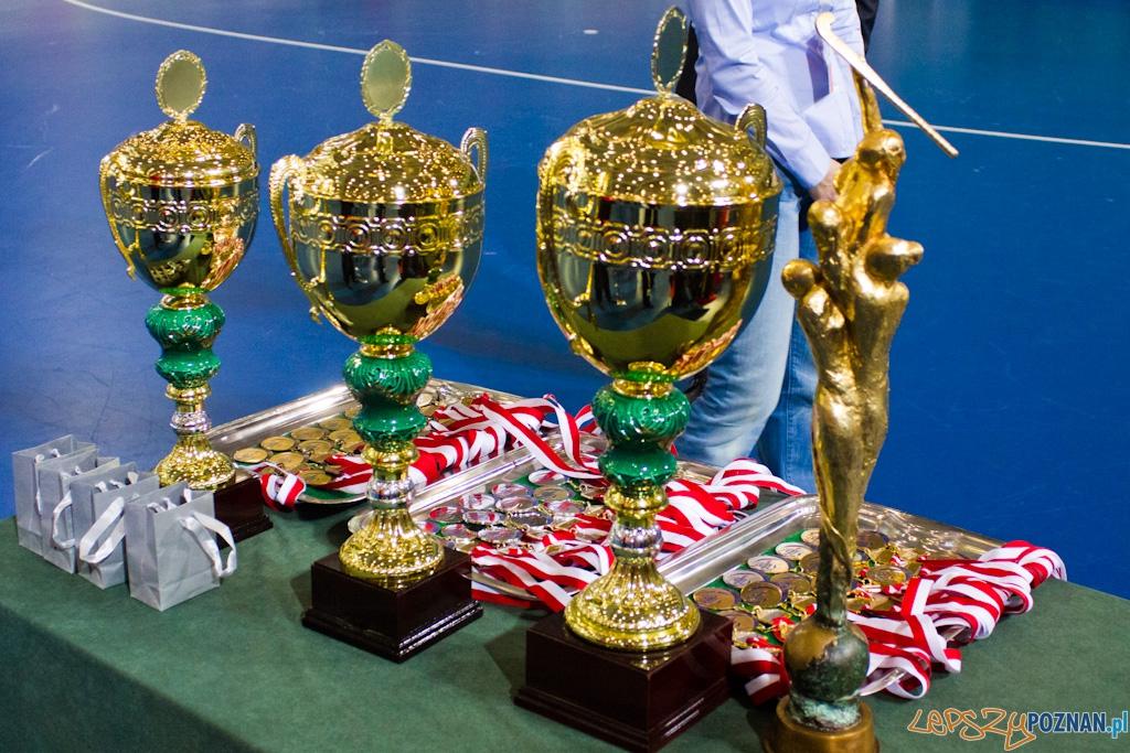 III Halowe Mistrzostwa Świata w Hokeju Na Trawie -Dekoracja  Foto: lepszyPOZNAN.pl / Piotr Rychter