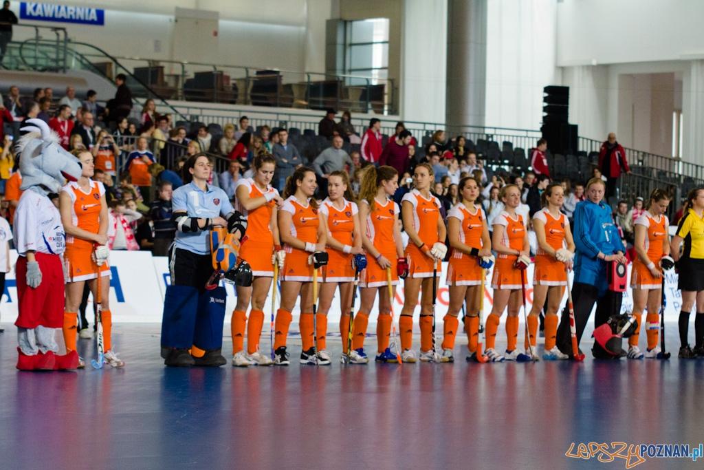 III Halowe Mistrzostwa Świata w Hokeju Na Trawie -Finał kobiet - Niemcy - Holandia  Foto: lepszyPOZNAN.pl / Piotr Rychter