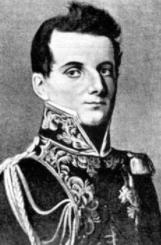 Dezydery Chłapowski jako oficer sztabowy Napoleona Foto: wikipedia