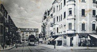 Tramwaj na ulicy Kraszewskiego, lata 1900- 1915 Foto: fotopolska