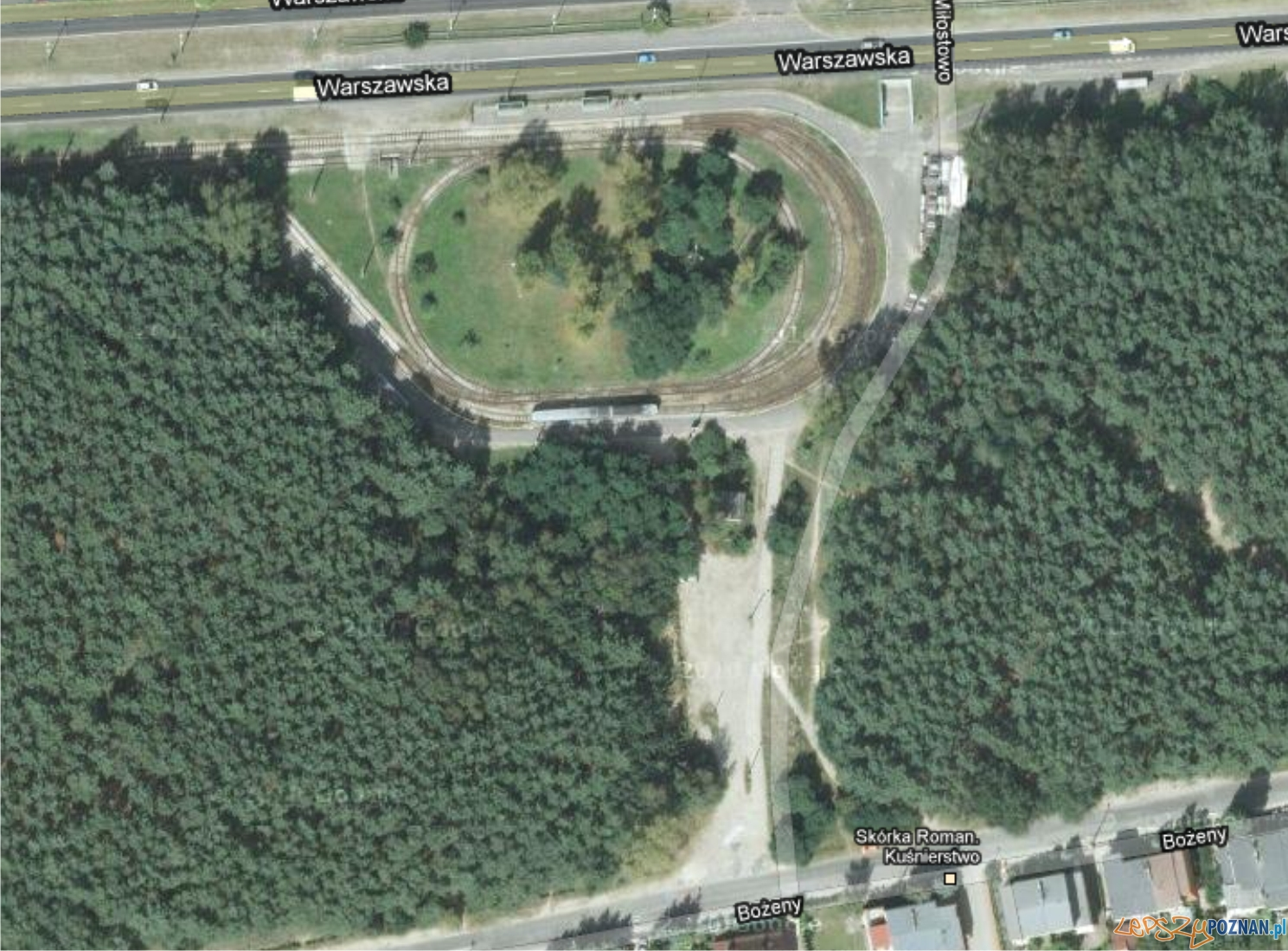 Pętla Miłostowo  Foto: google maps