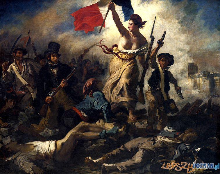 Eugène_Delacroix_-_La_liberté_guidant_le_peuple Foto: wikipedia