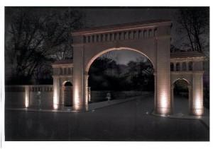 Tak będzie wyglądać podświetlona Brama Edwardowo Foto: Pracownia Architektury Marcin Bartz
