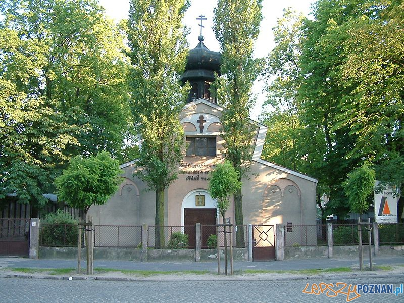 Cerkiew w Poznaniu Foto: Radomil www.wikipedia.pl