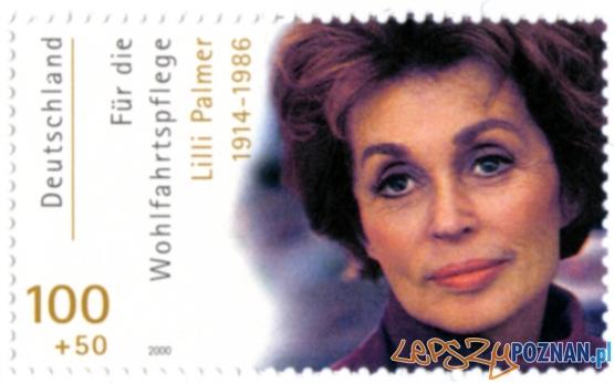 Lilli_Palmer na niemieckim znaczku