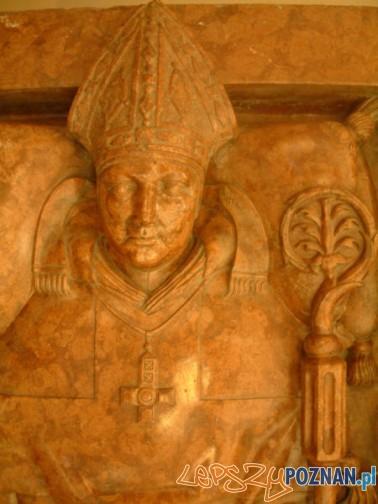 Nagrobek biksupa Jana Lubrańskiego w poznańskiej katedrze