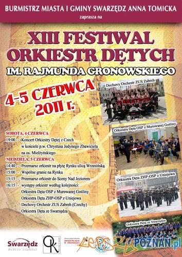 XIII Festiwal Orkiestr Dętych im. Rajmunda Gronowskiego Foto: XIII Festiwal Orkiestr Dętych im. Rajmunda Gronowskiego
