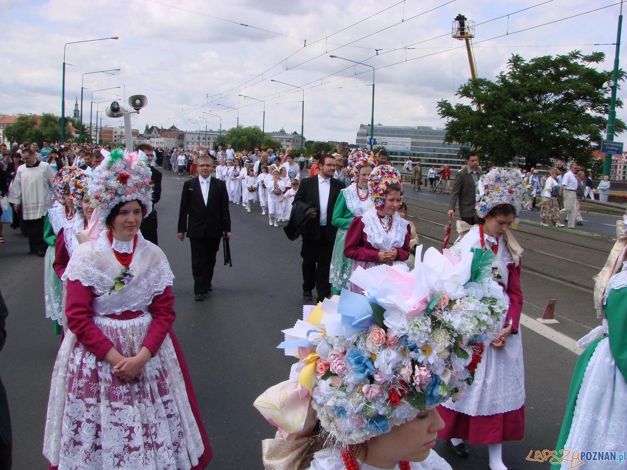 Centralna procesja Bożego Ciała w Poznaniu  Foto: lepszyPOZNAN.pl / ag