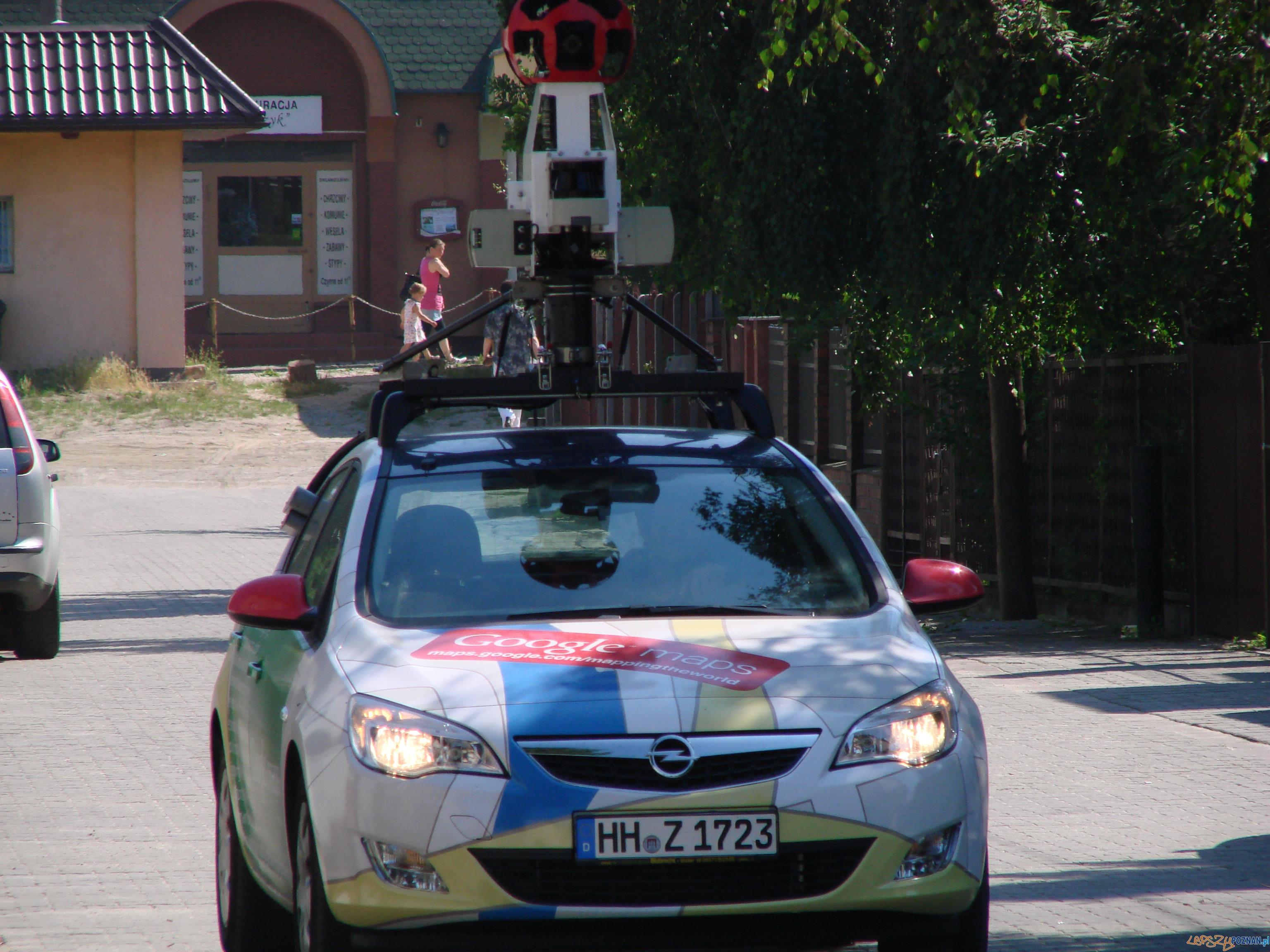 Google fotografuje Poznań  Foto: lepszyPOZNAN.pl / ag