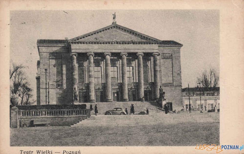 Opera Teatr Wielki w Poznaniu, rok 1949 Foto: fotopolska