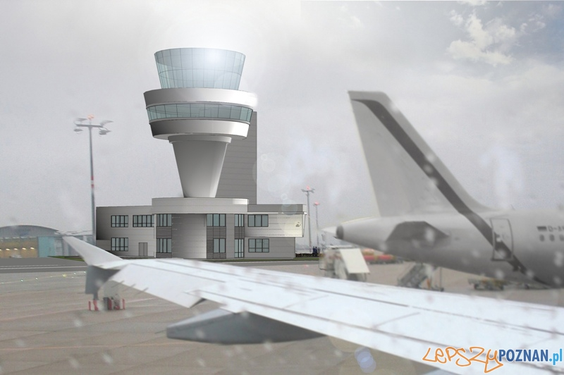 Nowa wieża na Ławicy  Foto: Prochem