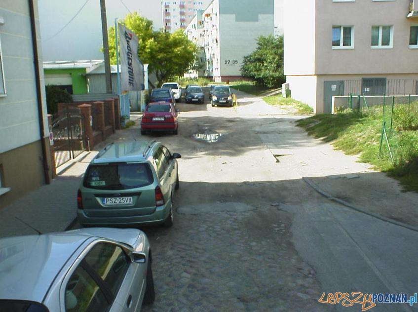 Ulica Kosynierska - jeszcze przed remontem  Foto: ZDM