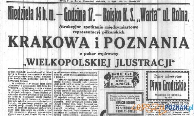 Anonse w Kurjerze Poznańskim z 14 lipca 1929 Foto: Wielkopolska Biblioteka Cyfrowa