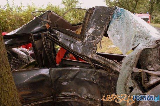 Wypadek w Krotoszynie - 2.07.2011 Foto: Szymon Kujawa