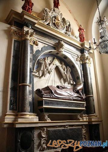 Nagrobek Wawrzyńca Goślickiego w katedrze poznańskiej Foto: wikipedia.pl