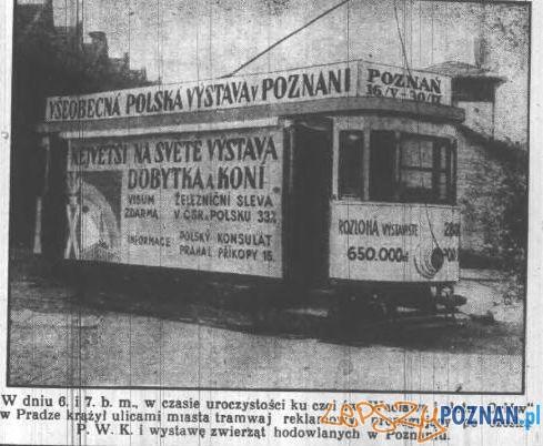 Reklama PeWuKi w Pradze, Kurjer Poznański, 14 lipca 1929 Foto: Wielkopolska Biblioteka Cyfrowa