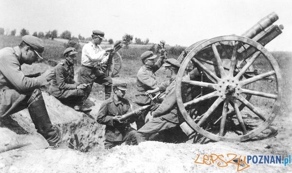 Armata 77 mm wz.96 w czasie wojny polsko-bolszewickiej 1920 r