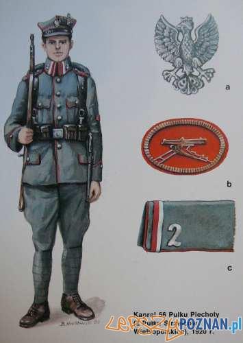 Armia Wielkopolska 1920 r Foto: www.dobroni.pl