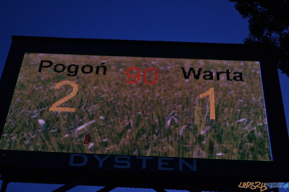 Pogoń Szczecin - Warta Poznań 2:1  Foto: Krzysztof Matusiak