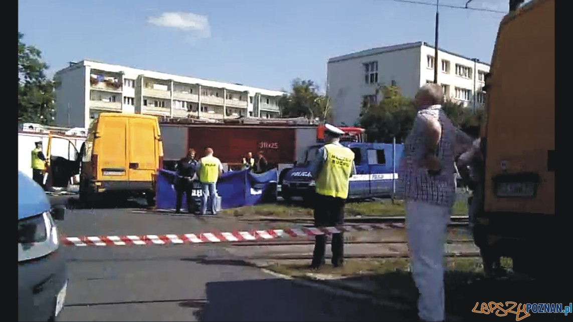 Śmiertelny wypadek na Ratajach  Foto: -
