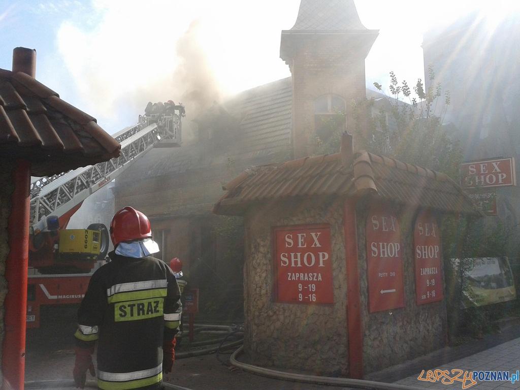 Pożar na Łazarzu  Foto: lepszyPOZNAN.pl/ Paweł Rychter (gsm)