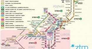 Schemat Komunikacji Miejskiej w Luboniu