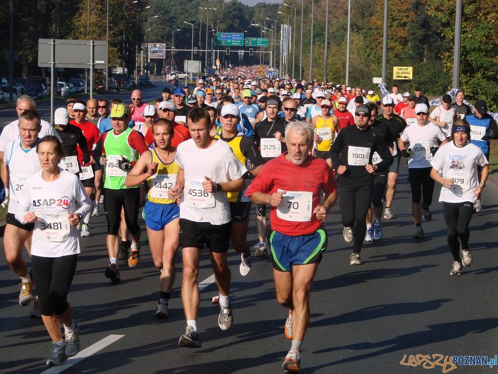 12 Poznań Maraton - I okrążenie  Foto: lepszyPOZNAN.pl / ag