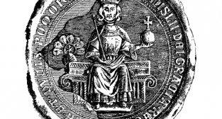Pieczęć królewska Przemysła II z 1296