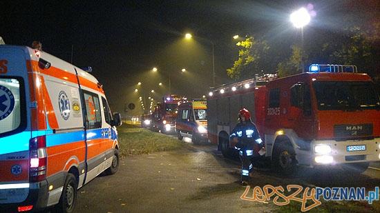 Tragiczny wypadek na Dąbrowskiego  Foto: K. Cierzniak