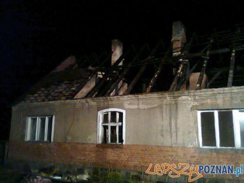 Tragiczny pożar w Jaraczu  Foto: Krzysztof Krawczak
