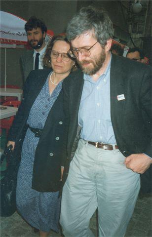 Anna i Stanisław Baranczakowie Foto: wikipedia