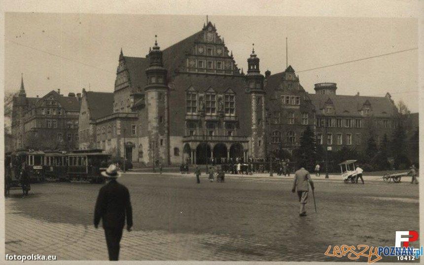Aula uniwersytecka, pocztówka z lat 30 XX wieku Foto: fotopolska.eu