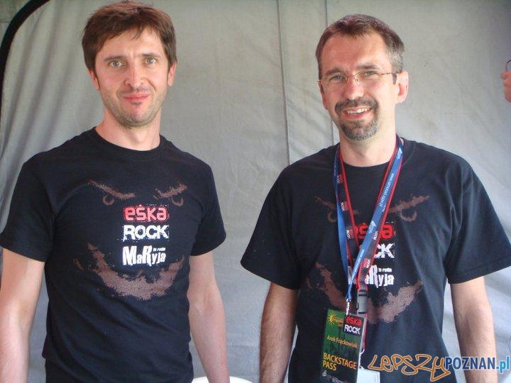 Eska Rock Robert Pegaz Zawieja i Arkadiusz Frąckowiak