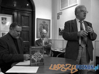 Profesor Antoni Czubiński (z prawej) Foto: powstaniewielkopolskie.pl