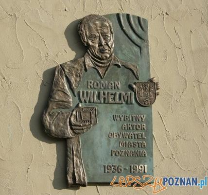 Tablica Romana Wilhelmiego  Foto: