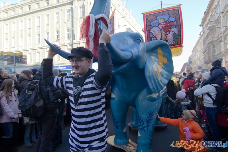 Imieniny ulicy Święty Marcin - Korowód Świętomarciński - 11.11.11 r.  Foto: lepszyPOZNAN.pl / Piotr Rychter