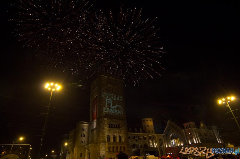 Imieniny ulicy Święty Marcin - pokaz sztucznych ogni - 11.11.11 r.  Foto: lepszyPOZNAN.pl / Piotr Rychter
