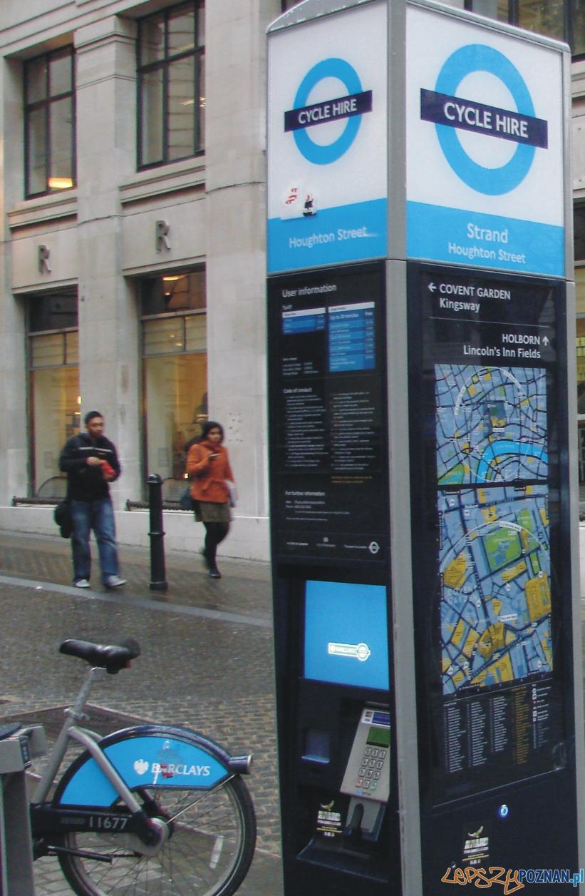 Londyn - cycle here  Foto: lepszyPOZNAN.pl / ag