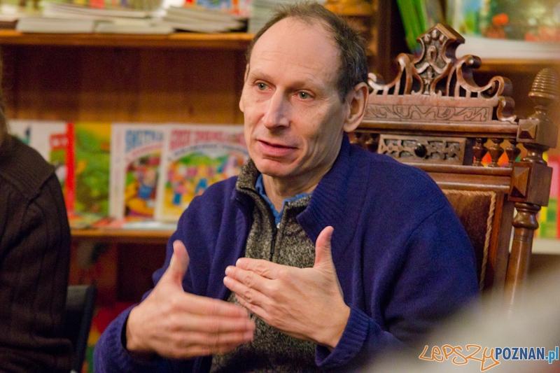 Spotkanie z Richardem Zimlerem - Poznań 19.11.2011 r.  Foto: lepszyPOZNAN.pl / Piotr Rychter