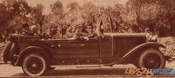 Moscicki w towarzystwie prezydenta Ratajskiego 1928