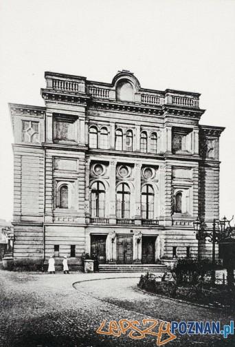 Teatr Polski w Poznaniu w 1918 r Foto: fotopolska.eu