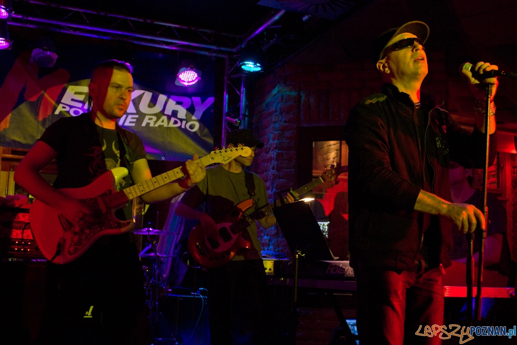 Koncert zespołu Ziyo - Poznań, Lizard King 1.12.2012 r.  Foto: Anna Bernard