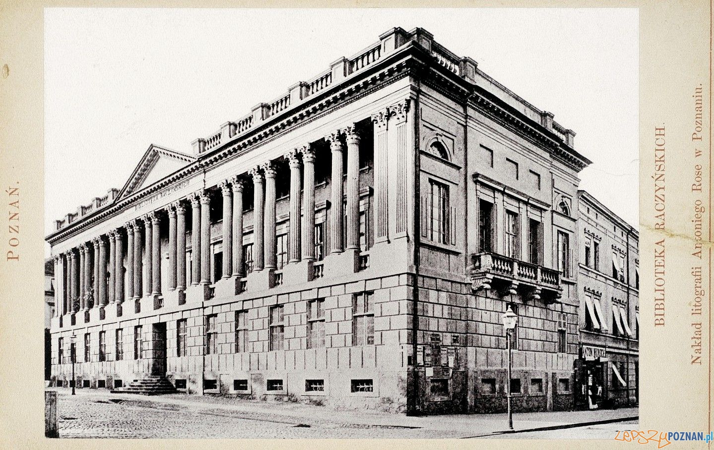 Biblioteka Raczyńskich, 1884 Foto: fotopolska