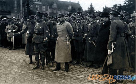 Józef Dowbor Muśnicki i Józef Piłsudski w Poznaniu Foto: Ze zbiorów Wielkopolskiego Muzeum Walk Niepodległościowych w Poznaniu.