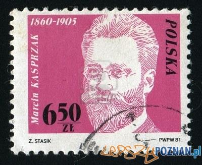 Marcin Kasprzak znaczek 1981 r