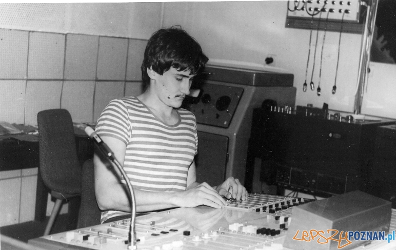 Mariusz Max Kolonko w Radio Winogrady 1983 Foto: http://maxkolonko.com