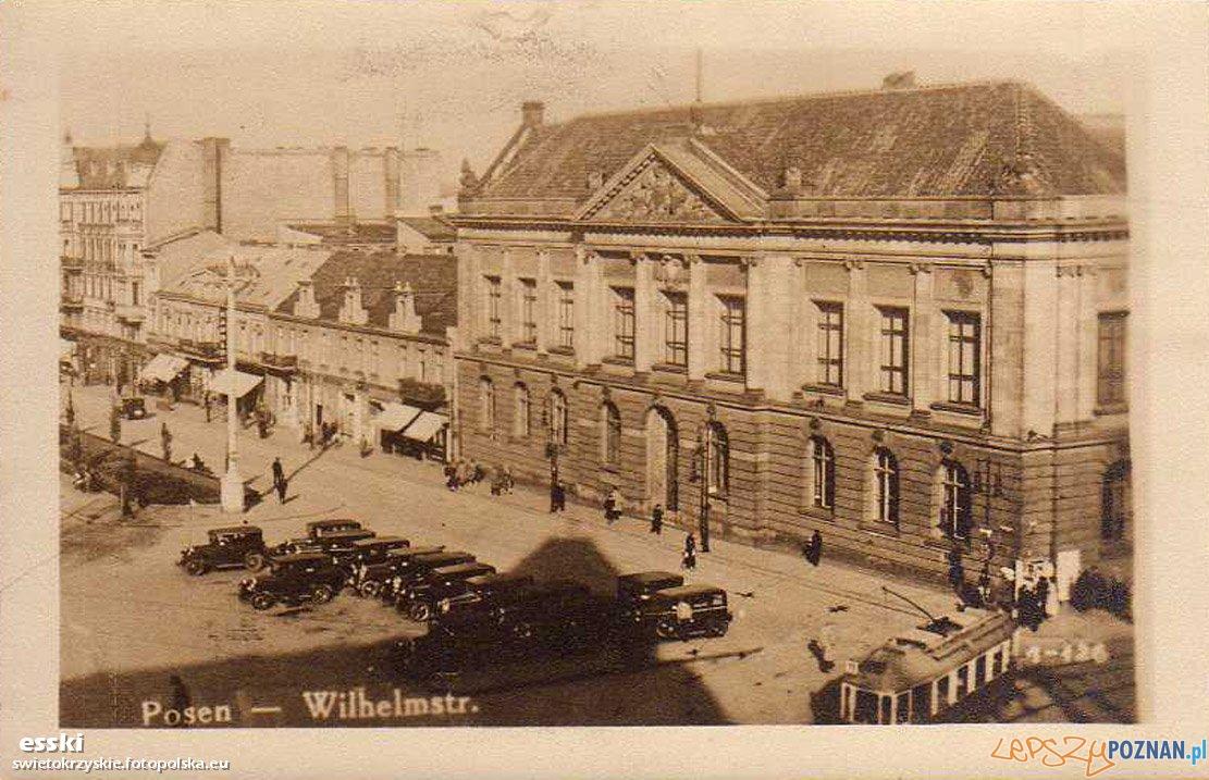 Muzeum Wielkopolskie w Poznanu w roku 1935