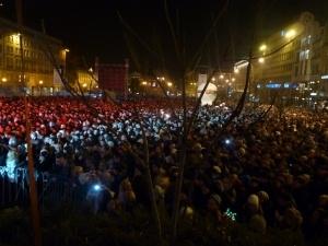 Zabawa na Placu Wolności Foto: Maciej Koterba
